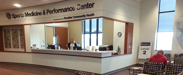 CU-Boulder Sports Medicine and Performance Center