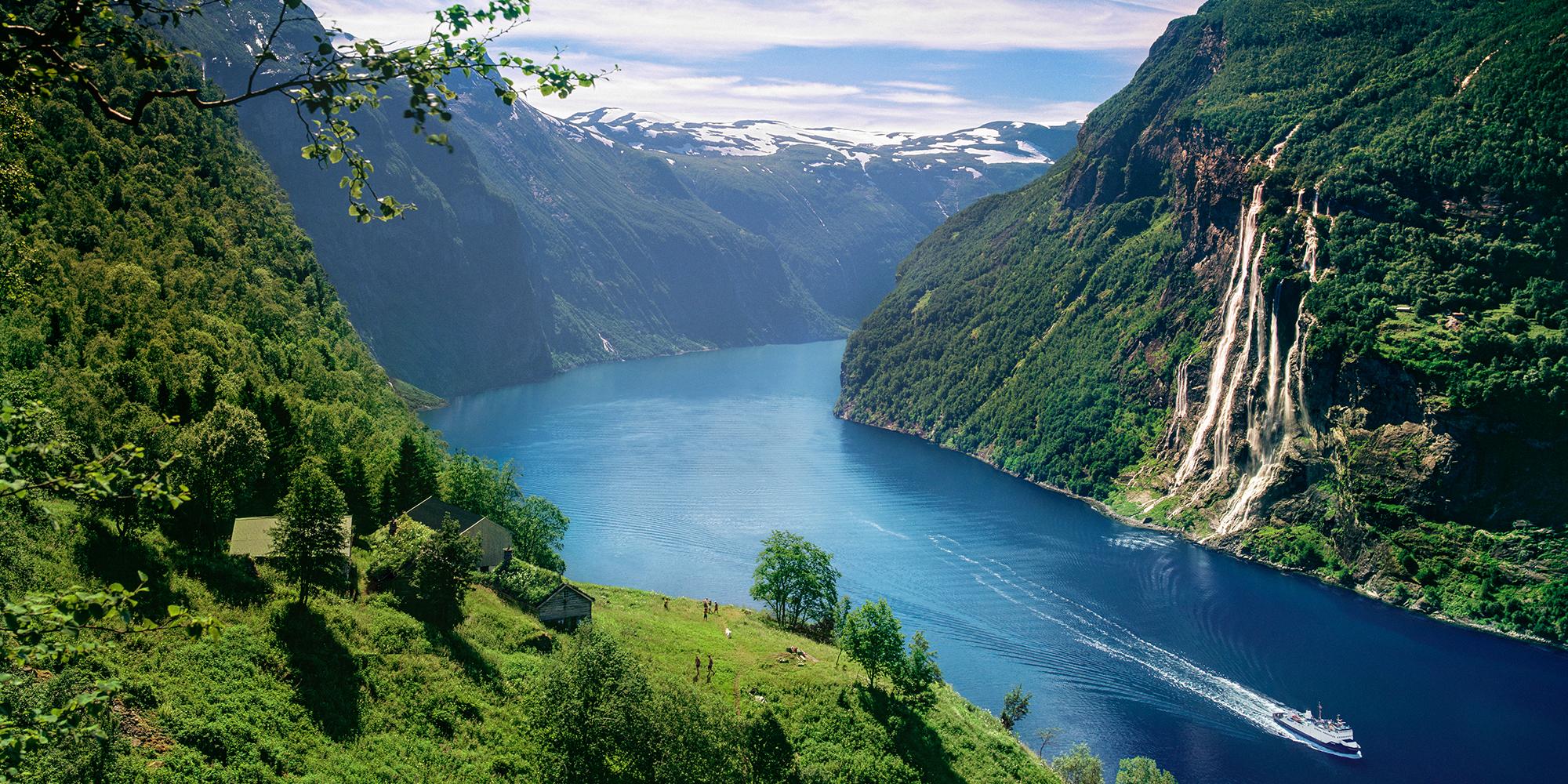 Le Geirangerfjord en Norvège | Fjords et chutes d'eau