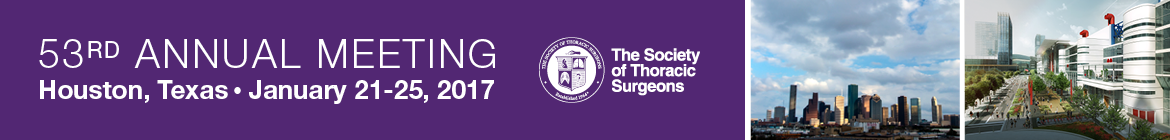 Society of Thoracic Surgeons Banner