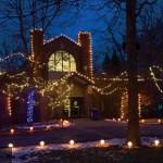 Christmas Lights in Lansing Michigan
