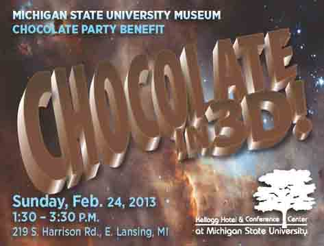 MSU Museum Chocolate Party Event in East Lansing