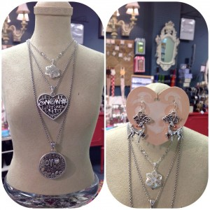 Unique gift ideas can be found all over Greater Lansing, like these pretty items at Kean's Store in Mason.