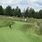 Golfing at Little Hawk in Lansing
