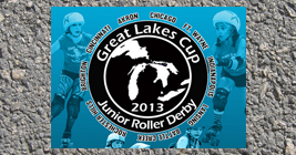 Come see the Midwest's best junior roller derby teams fight it out for the cup!