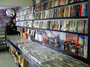 Flat, Black and Circular Music Store