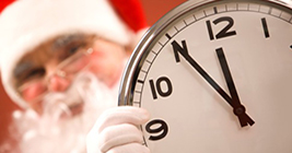 Yes Santa, we know. Time is running out for the big day. Can we get the shopping done in time? Right here in Lansing? Yes!
