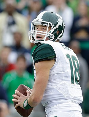 Our future rests on the capable throwing arm of the most successful QB in school history, Connor Cook.
