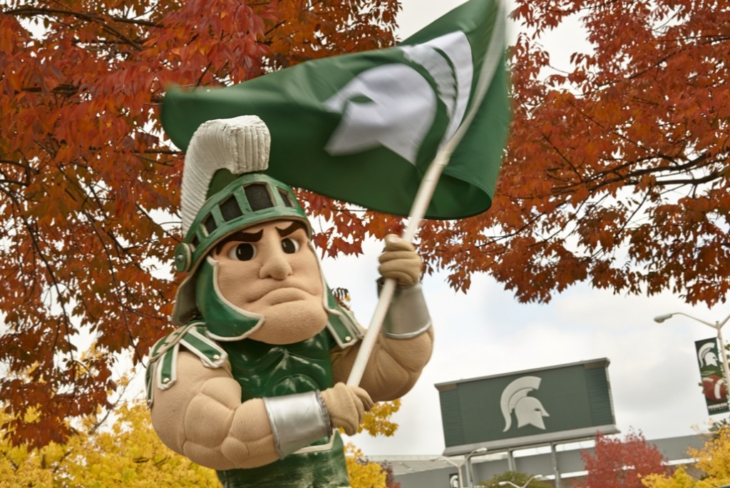 Sparty Fall (1 of 1)