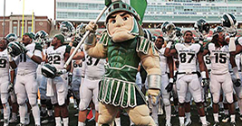 Michigan State Spartan Football is enjoying an era of pure excellence. Be a part of it!