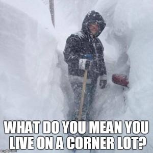 snow corner lot