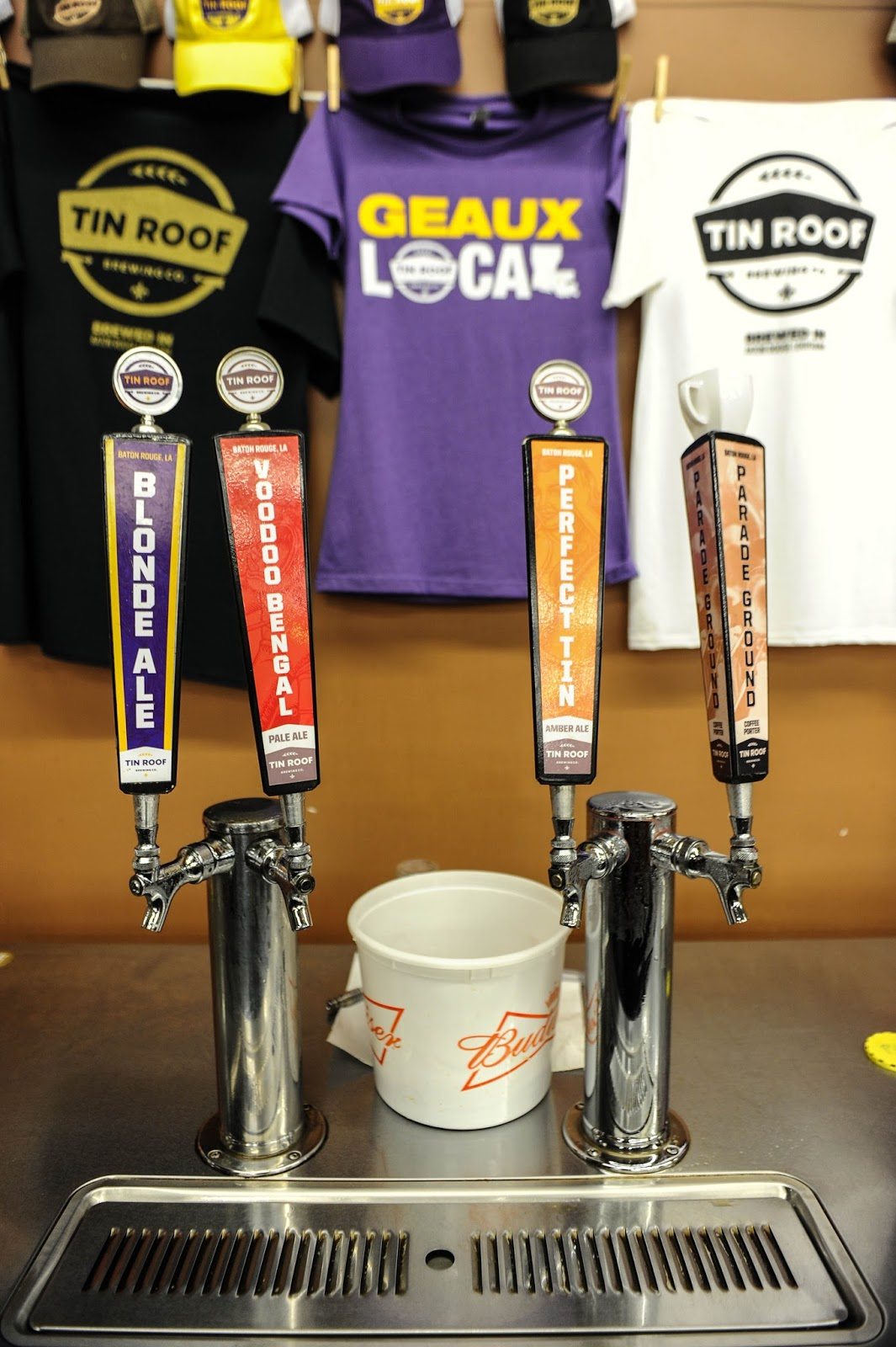 Geaux Local At Tin Roof Brewery