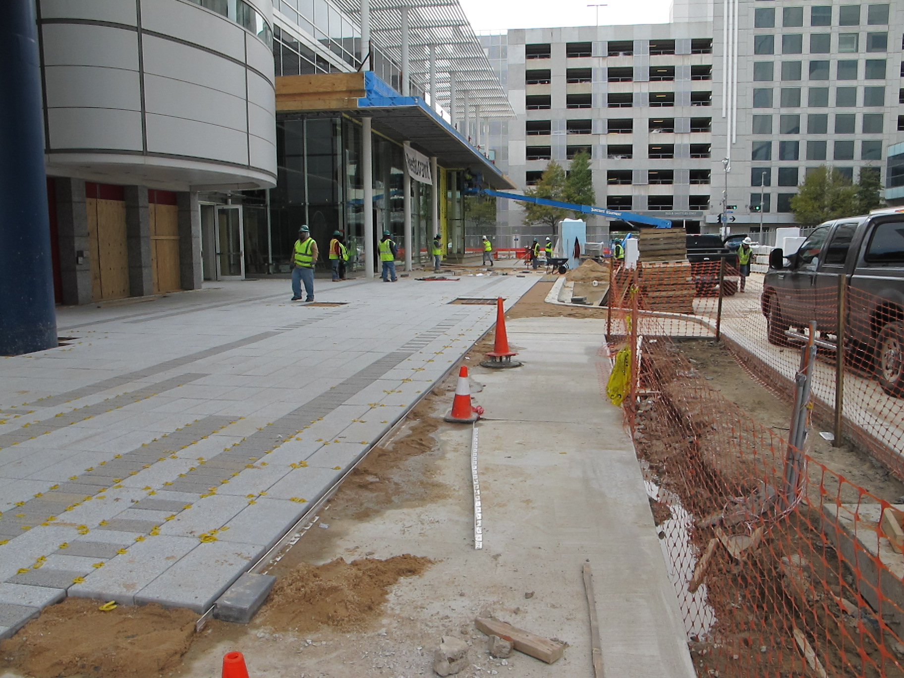 GRB Construction pavers