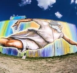 Preservons La Creation Mural