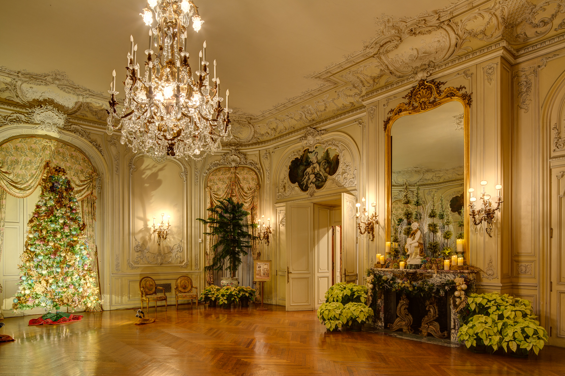 Roosevelt Floor Plan Happening Now Christmas At The Newport Mansions Through