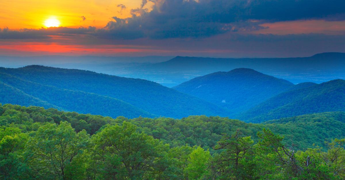 Blue Ridge Mountains West Virginia Map.Blue Ridge Mountains Roanoke Va