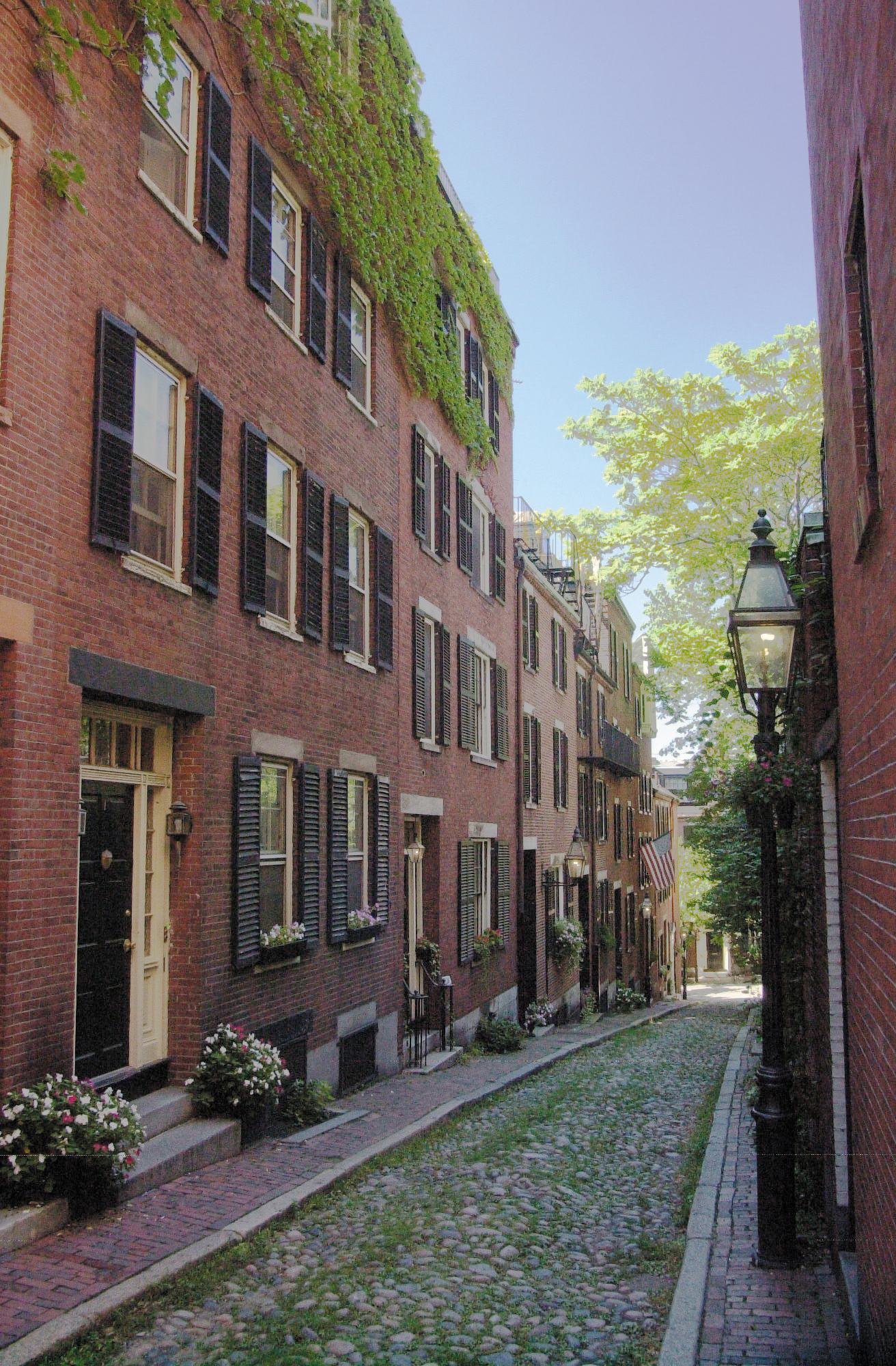 Beacon Hill Hotels Attractions Boston Neighborhoods