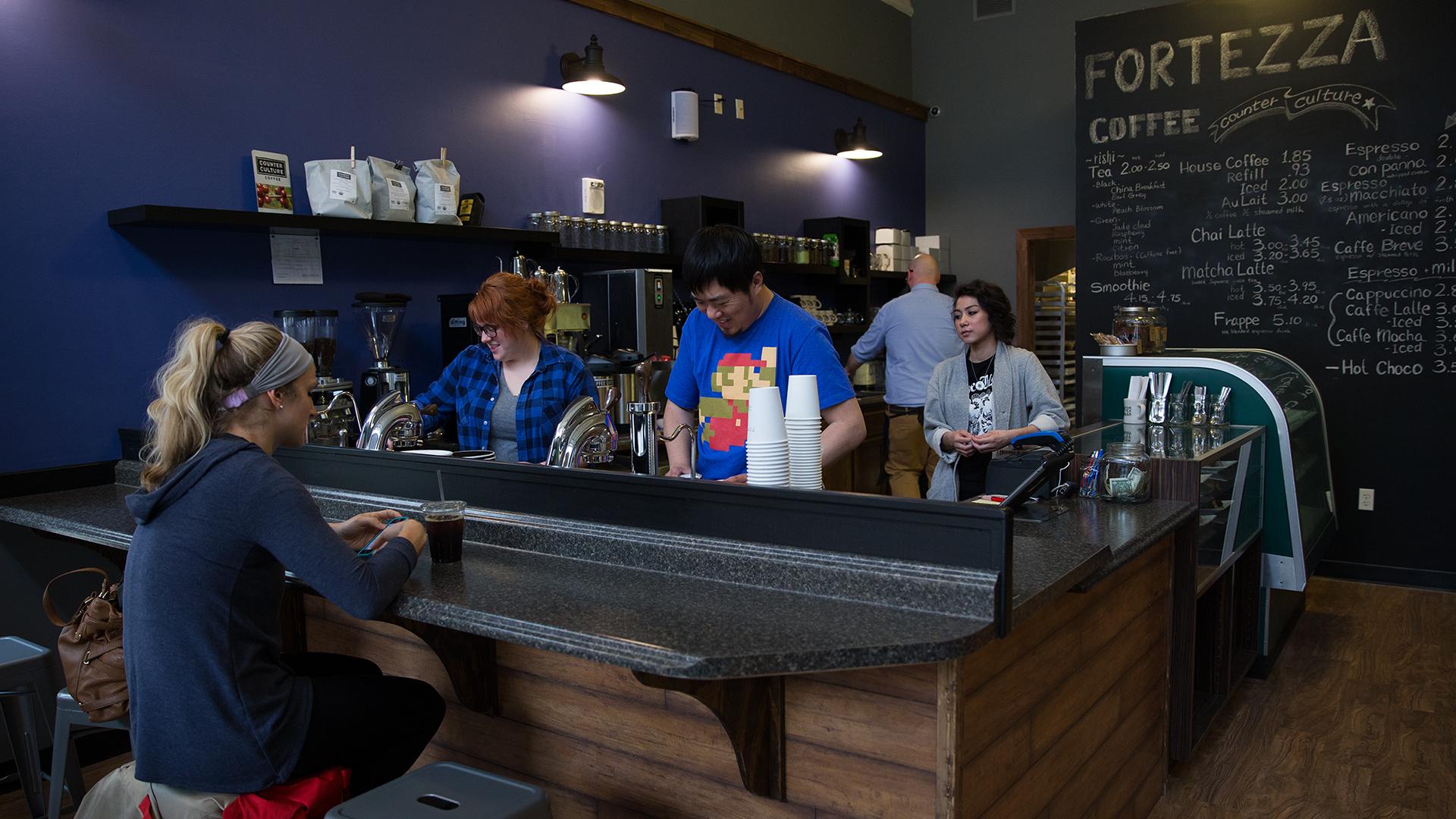 Favorite Fort Wayne Coffee Shops