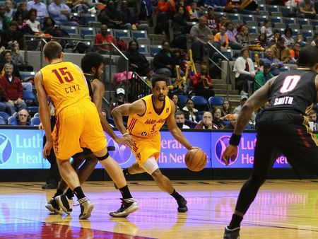The Fort Wayne Mad Ants hit the court April 4th.