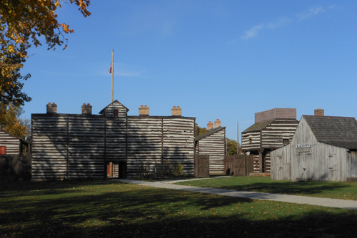 Get a history lesson at The Old Fort!