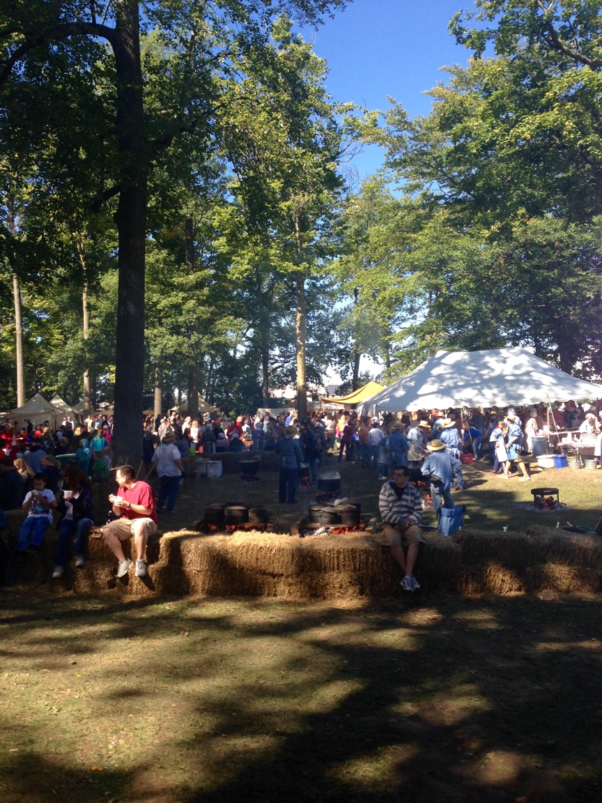 Take time to enjoy all of the sites and sounds at the Johnny Appleseed Festival!