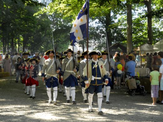 You'll see a variety of period reinactments taking place throughout the festival.
