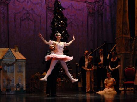 You'll be transported to a dreamland filled with magic and toys in The Nutcracker.