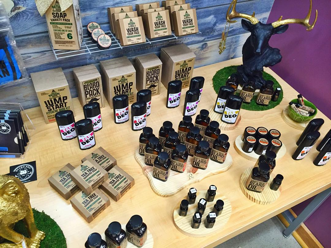 Valontine has a wide selection of beard grooming products for the burly, bearded man, in addition to some seriously fun goodies in the store. (Photo: Valontine)