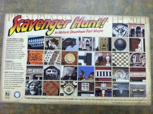 Scavenger Hunt Map