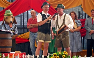 Band performing at GermanFest