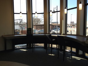 Need to get away from the office and get some work done.  Check out the Cyber Cafe at 3 Rivers Harrison Square