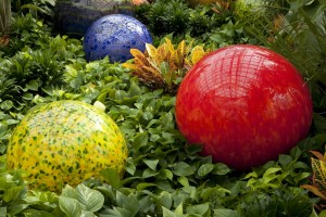 Chihuly's Niijima Floats Courtesy Franklin Park Convservatory, photo by T. Rishel