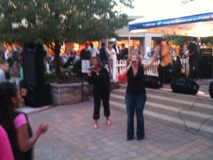 Local Band, Urban Legend, plays to a packed house at Friday Nites Live at Jefferson Pointe
