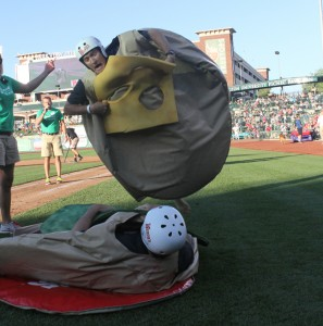 Build-a-Burger contest for the TinCaps