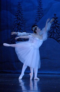 A scene from the Fort Wayne Ballet's Nutcracker
