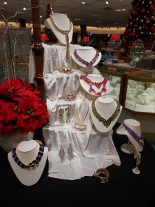 Sparkling Necklaces at Von Maur