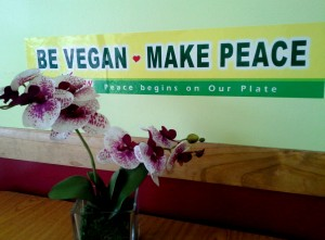 vegan sign