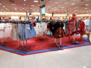 Look at this forest of little frocks! Just which one could a little girl choose?