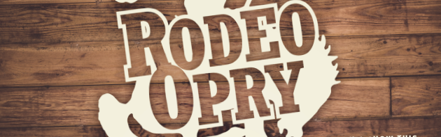Image of the Rodeo Opry Sign in the Stockyards City district of Oklahoma City.