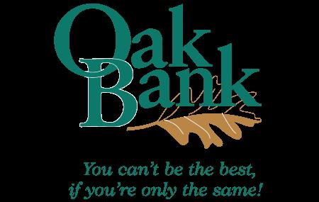 Oak Bank Logo - MSR Sponsor