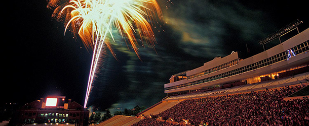 Folsom Field 4th of July