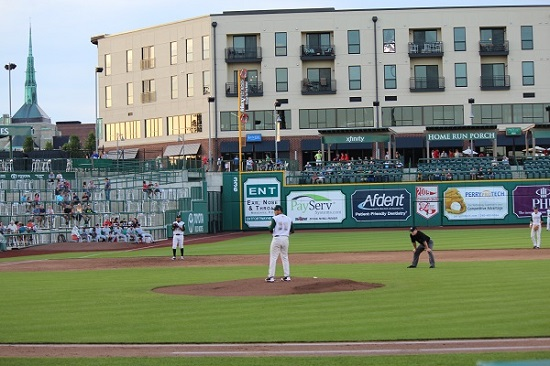 TinCaps Baseball Game