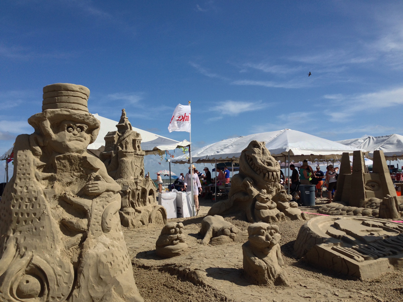 AIA sandcastle galveston