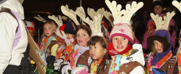 Lights of December Parade