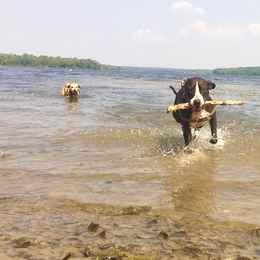 Olivia B's #BucksCountyMoment: Playing at Lake Nockamixon