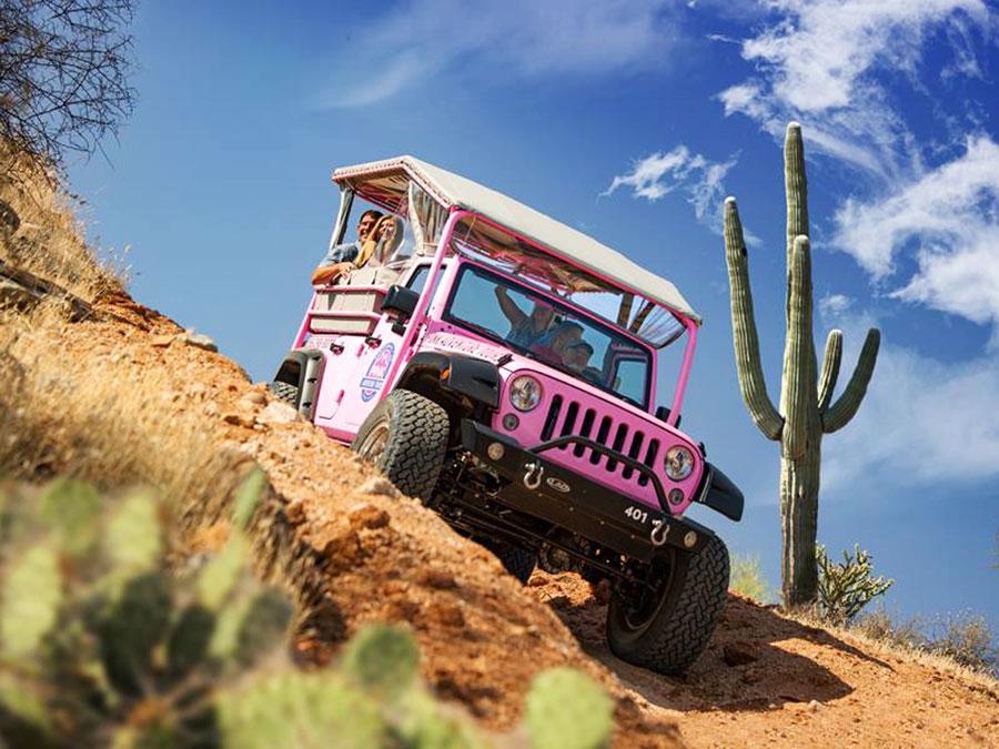 pink jeep tours scottsdale