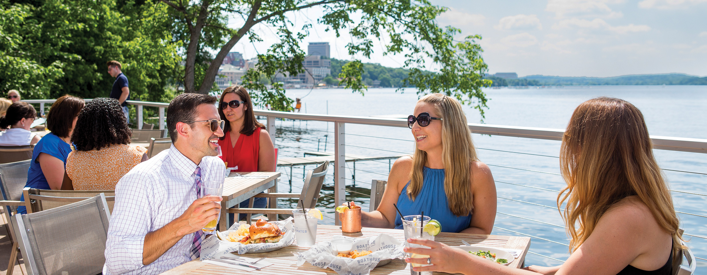 The Boathouse at The Edgewater: Waterfront Dining
