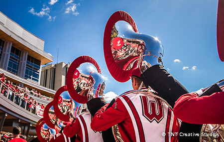On Wisconsin Marching Band