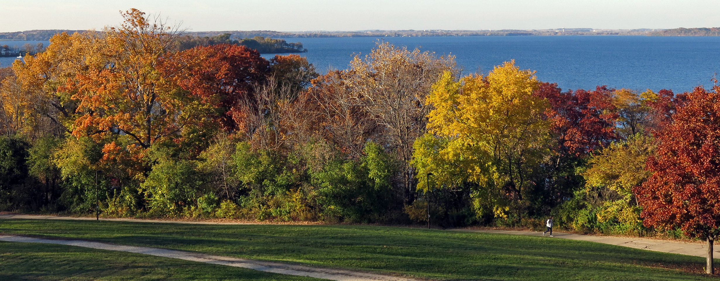 Picnic Point in Fall