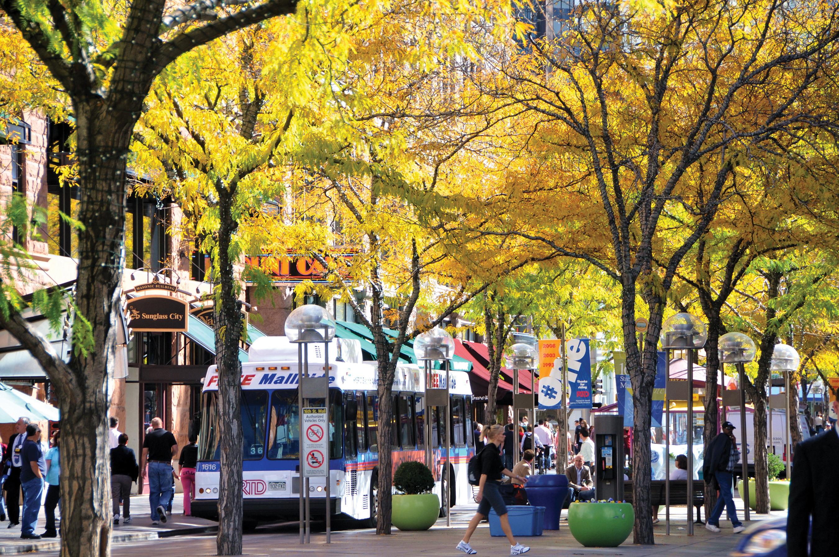 16th Street Mall In Denver Colorado Visit Denver