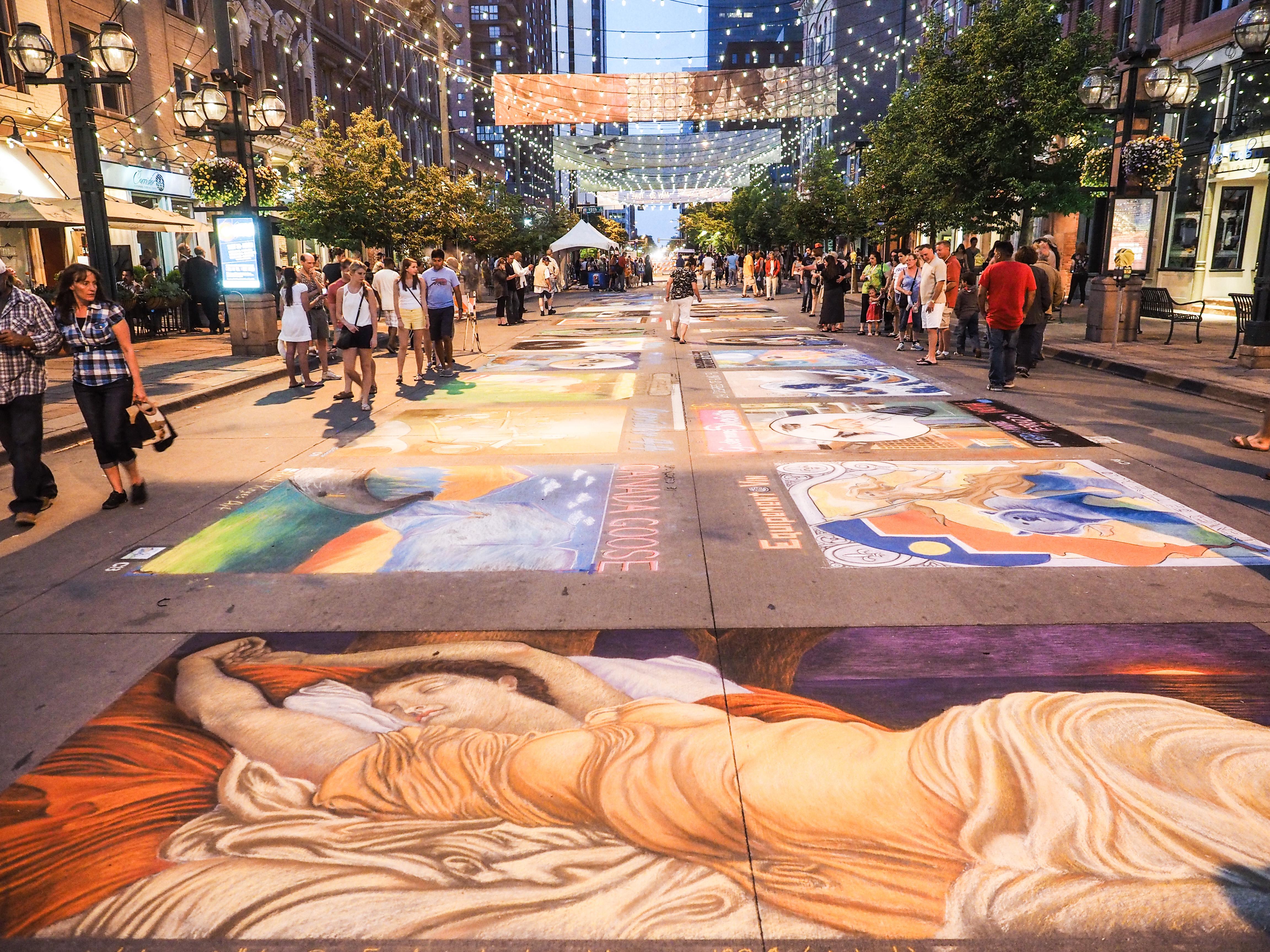 Denver Chalk Art Festival | Visit Denver